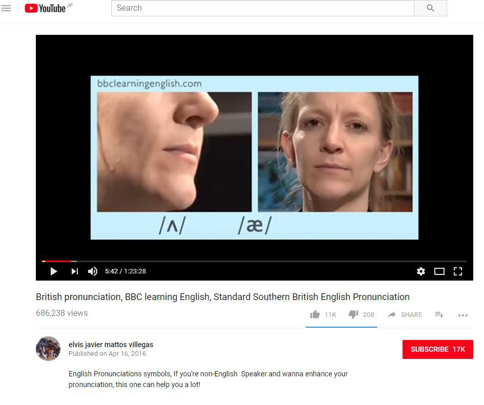 British pronunciation, BBC learning English, Standard Southern British English Pronunciation