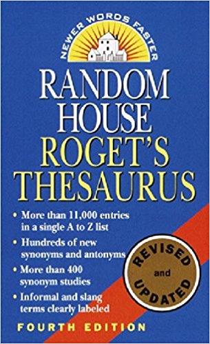 The Random House Roget's Thesaurus
