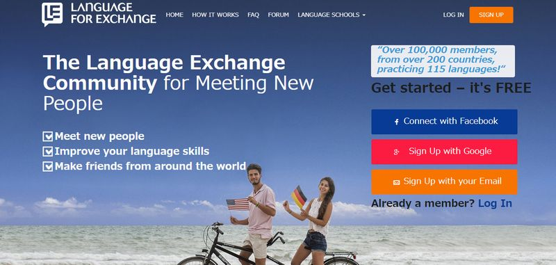 Language For Exchange