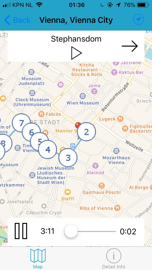 City Listening GPS