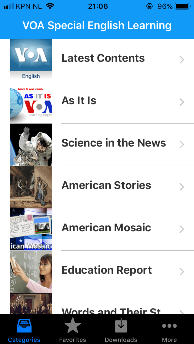 VOA English Daily News Radio