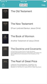 Scriptures In Focus - Speed Read and Focus on the Book of Mormon and Bible